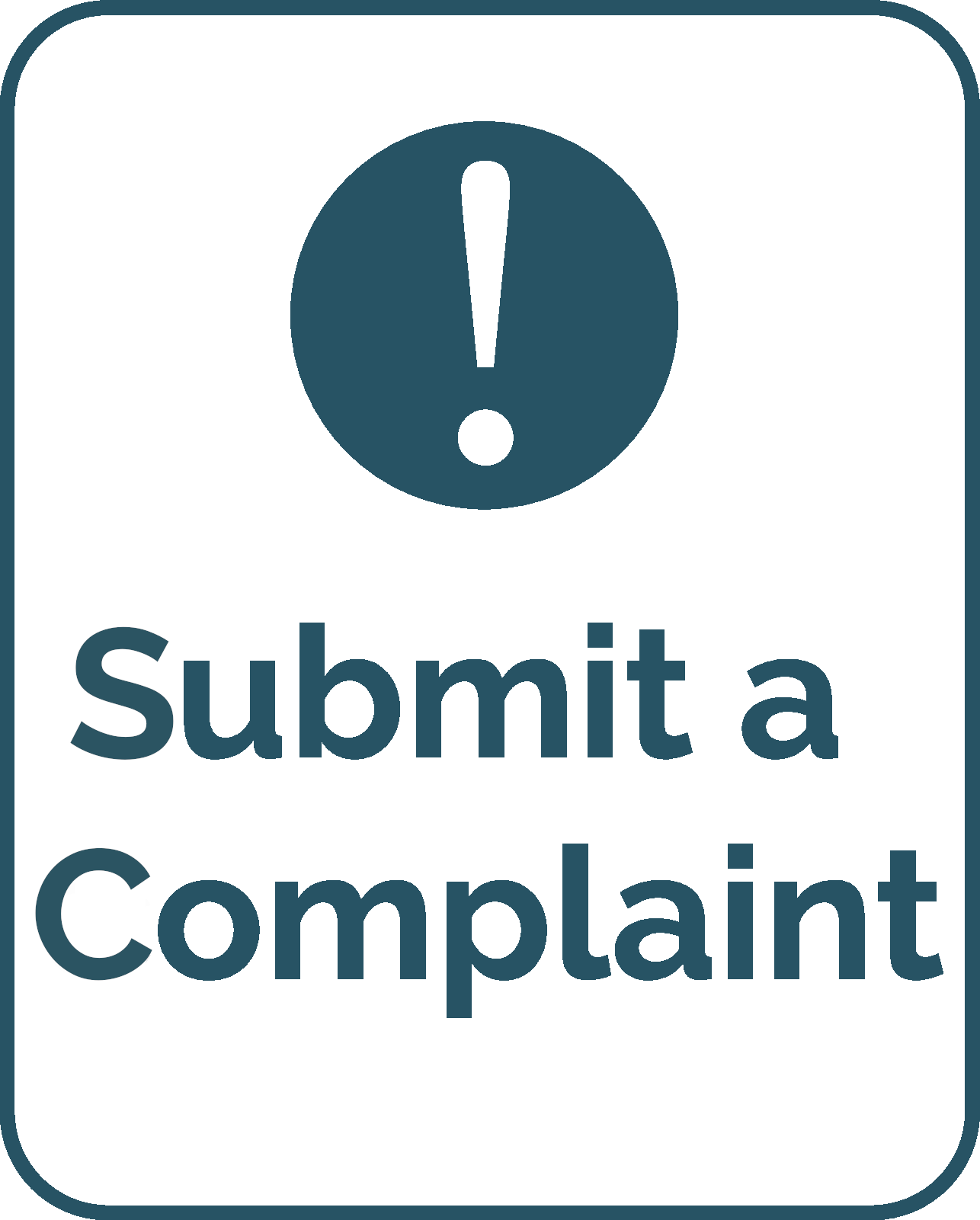 submit a complaint logo